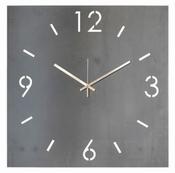 Spinder Design Time Wandklok Vierkant 40x40 - Blacksmith