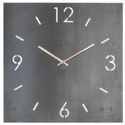Spinder Design Time Wandklok Vierkant 80x80 - Blacksmith