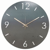 Spinder Design Time - Wandklok - Rond - 60 cm - Blacksmith