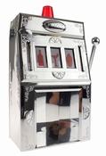 Drankdispenser - Jackpot Gokautomaat - Zilver