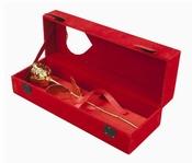 Gouden Roos in Roodfluwelen doos