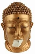 Boeddha Tissue box Houder - Brons