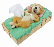 Hond Tissue box cover