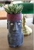 Bloempot - Moai