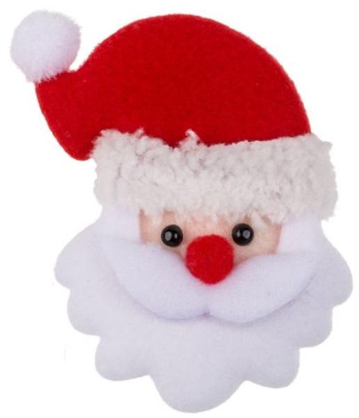 Kerstblinkie stoffen kerstman