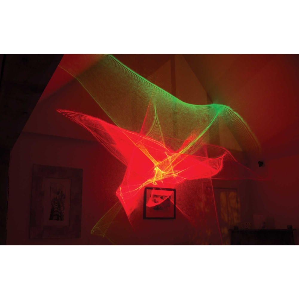 Laser Galaxy Setrren projector