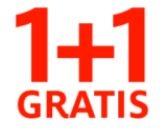 1 + 1 Gratis