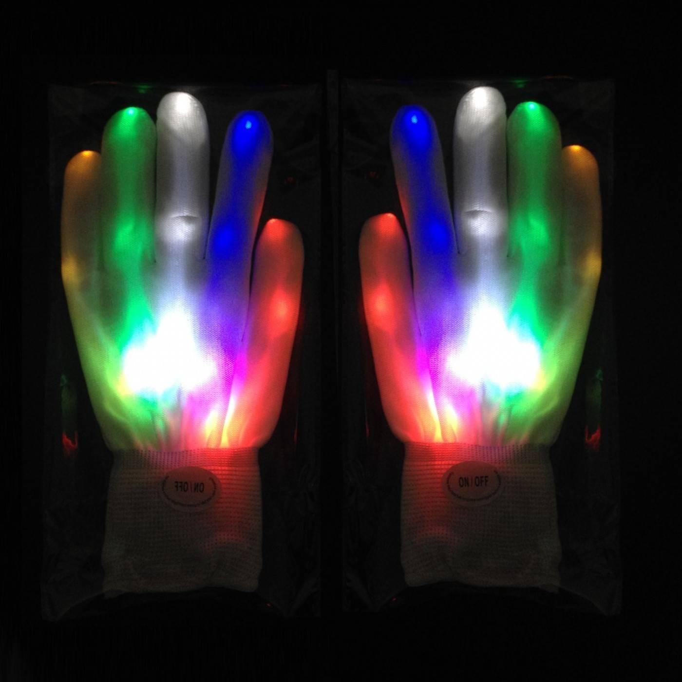 Handschoenen met licht